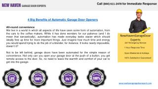 New Haven Garage Door Experts at Your Service