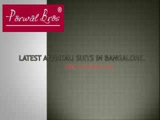 Buy designer suits in India.