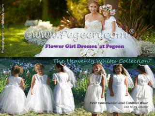 Flower Girl Dresses  at Pegeen