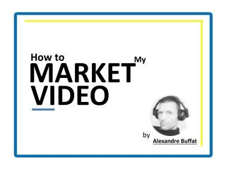 How to Market My Video