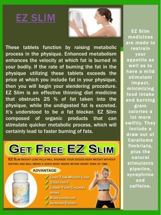 EZ Slim Benefits