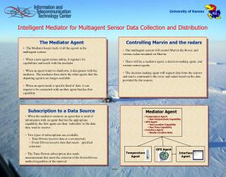 Intelligent Mediator for Multiagent Sensor Data Collection and Distribution