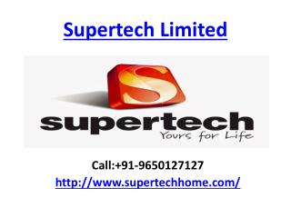 Supertech Limited Noida Residential Apartments