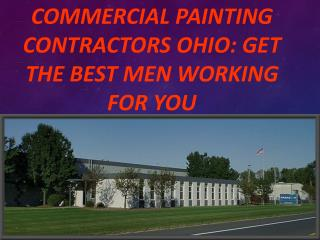 commercial painting contractors OHIO