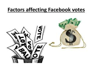 How to win Facebook Contest Votes ?
