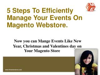 Magento Event Ticket Plug-in by FMEExtensions