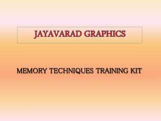 Memory Techniques Training Kit