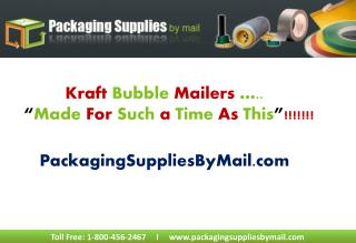 Kraft Bubble Mailers Wholesale