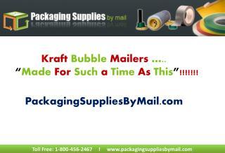 Kraft Bubble Mailers Wholesale