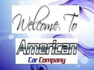 A short Clip on americancarcompany.com.au
