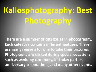 Kallosphotography: Best Photography