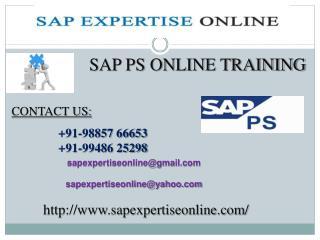 sap ps online training classes