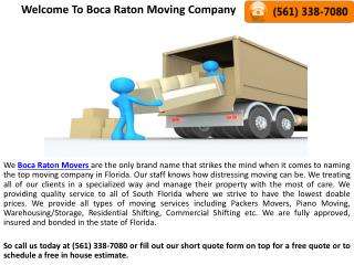Hire Professional Boca Raton Piano Movers and Packers
