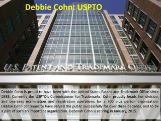 Debbie Cohn: USPTO