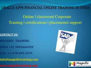 oracle apps financial online training classes in uk