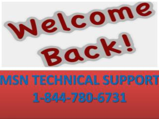 MSN Support Contact Number