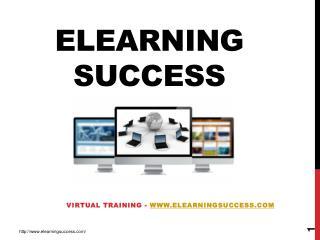 Virtual Training - www.elearningsuccess.com