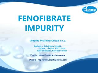 Fenofibrate Impurity