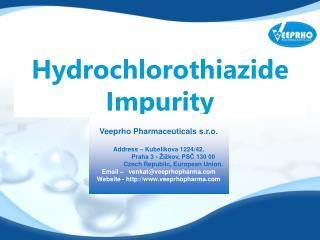 Hydrochlorothiazide Impurity