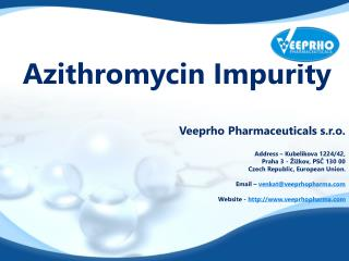 Azithromycin Impurity