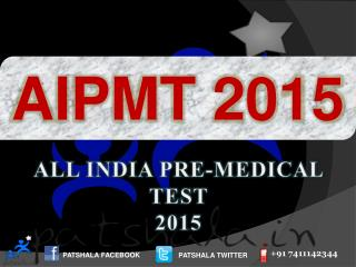 AIPMT 2015 Entrance Exam Dates|Government Medical Colleges