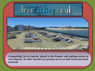 Arunparking a trusted airport service provider at Gatwick