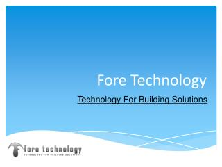 Fore Technology - Travel Technology Companies