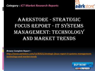 Aarkstore - Strategic Focus Report - IT Systems Management