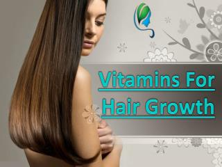 Vitamins and Supplements For Thinning Hair