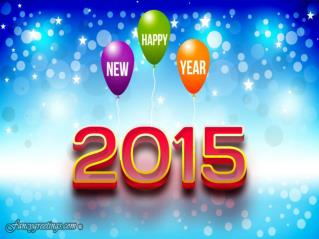 New Year 2015 - Fancygreetings