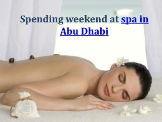 50% off at Spa in Abu Dhabi - Azur Spa