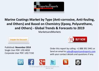 Marine Coatings Market is bound to register a CAGR of 8.9%