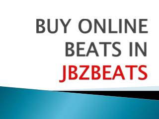 Purchase The Correct Beats For Your Music
