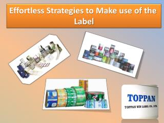 Effortless Strategies to Make use of the  Label