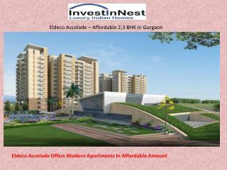 Find Modern 2,3 BHK In Gurgaon - InvestInNest