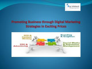 Promoting Business through Digital Marketing Strategies in E