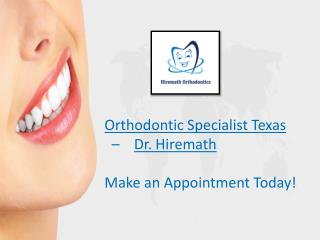 Orthodontic Specialist - Hiremath Orthodontics