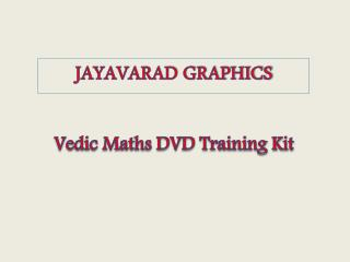 Vedic Maths DVD Training Kit