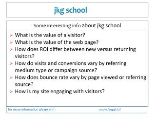 Information to have about Jkg school online payment