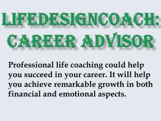 Lifedesigncoach: Career Advisor
