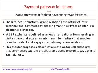 The best knowledgeable information about payment gateway for