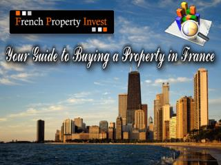 You're Guide to Buying a Property in France