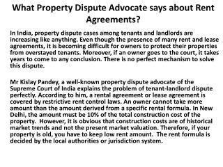 Kislay Panday-Property Matter Advocate