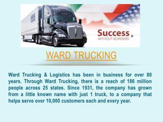 Ward Truck Driver Reviews