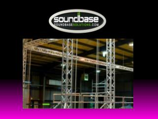 Sound Equipment and Stage Hire Manchester