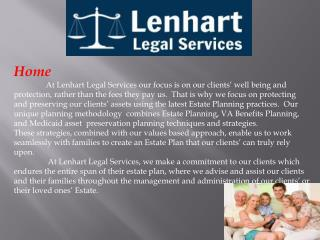 Estate Planning Documents, general Law Practice and Benefits