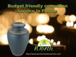 budget cremation service Florida