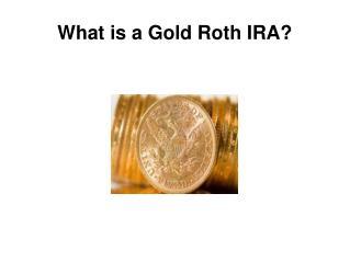 gold roth ira