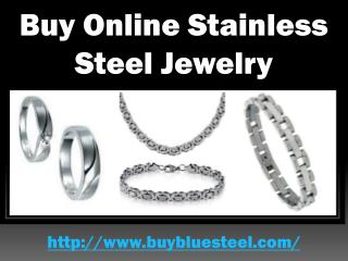 Buy Online Stainless Steel Jewelry