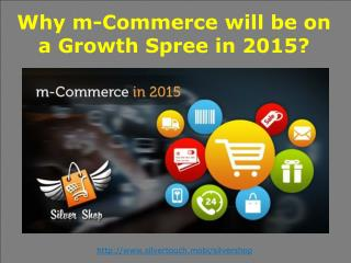 m-Commerce  on a Growth Spree in 2015